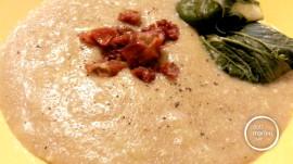 Crema di Amaranto con patate e anacardi